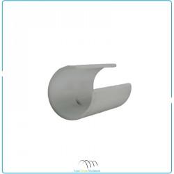 Clips PVC pour tube Ø32