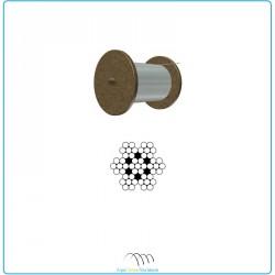 Câble 7 x 7 inox Ø3mm